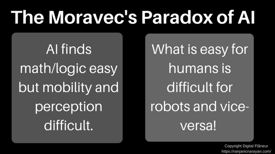 Moravec Paradox